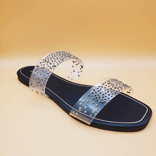 Ladies Clear Sandals