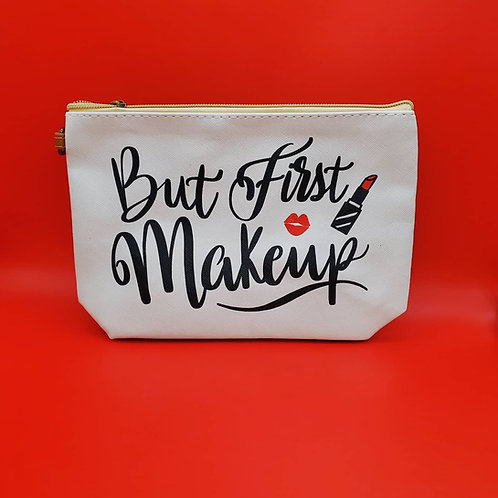 But First Make up Pouch