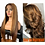 Thumbnail: Virgin Human Hair Lace Front Wig Honey Blonde Color Highlight 14-26 Inches