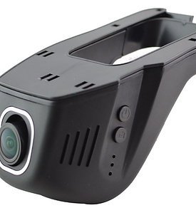 Windshield mount DVR - 1080 Wide angle and integrates with Smartphones