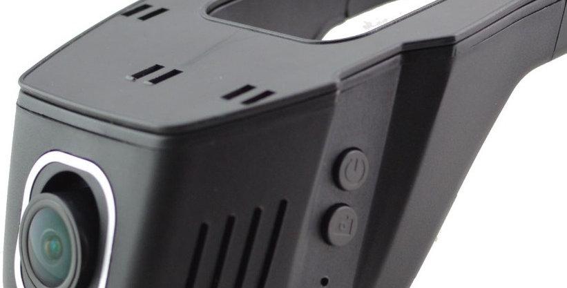 Windshield mount DVR  with lane 1080 Wide angle, Smartphones Integration