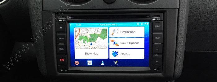 Nissan Factory NAV radio upgrade for most 2014-2017 models