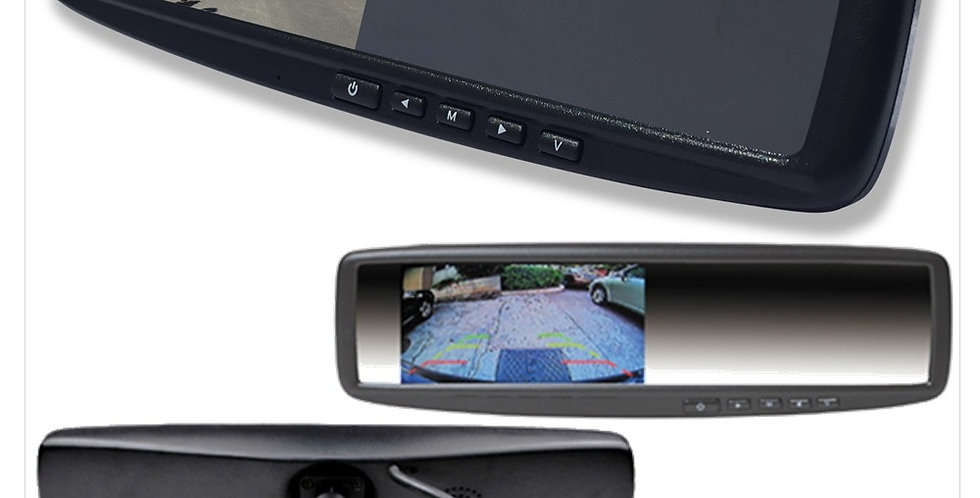 "HD 4.3"" Rear View Mirror Monitor -Drive Safe, works with most camera"