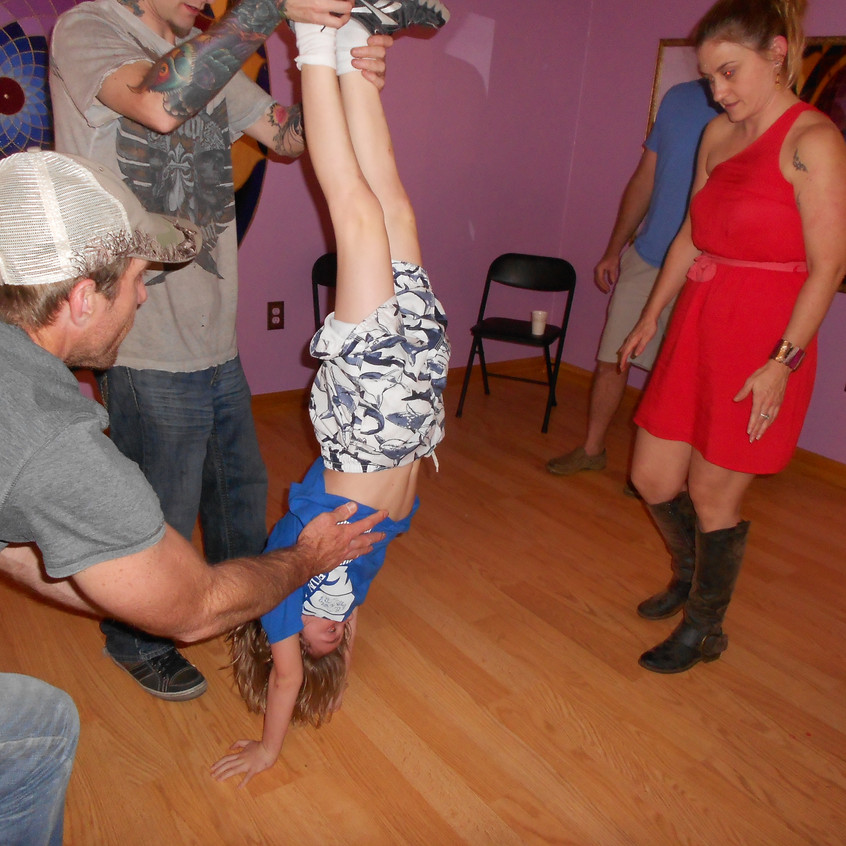 Hand stand Play Time