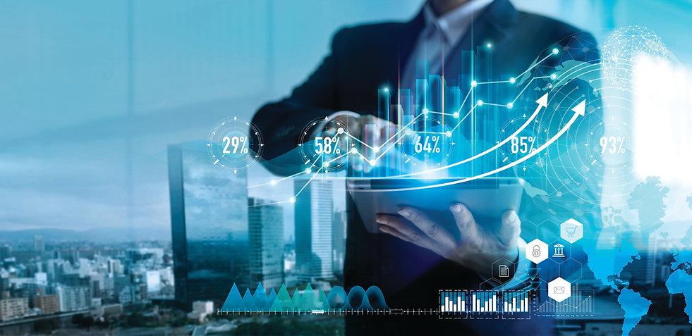 Digital marketing. Business strategy. Bu