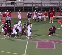 High School Highlight tapes that show college coaches recruiting