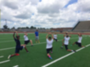 Trinity Coaching staff treats it's kickers and punters like family and not just a number by gettng to know each atlete individualy.
