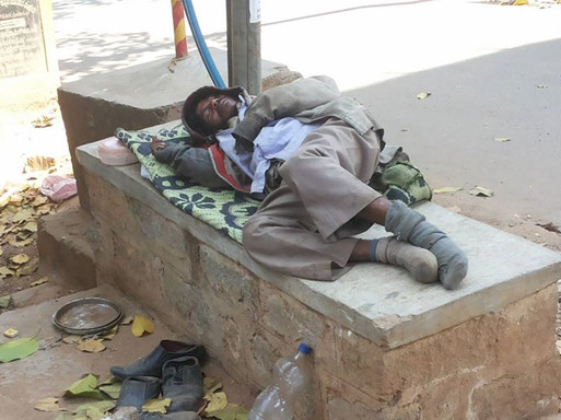 Homeless and Alone