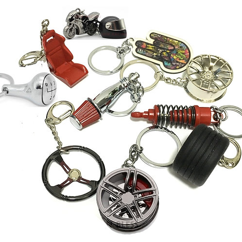 Car Part Key Chain