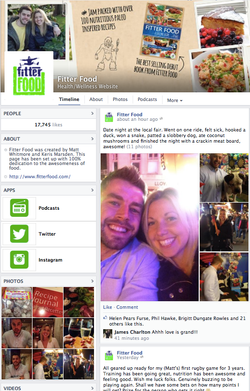 Fitter Food Social Media