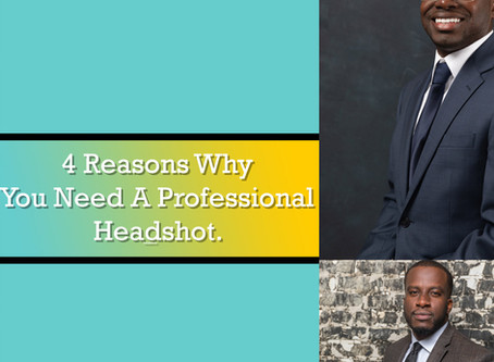 4 Reasons why you need a professional headshot.
