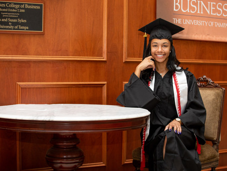 University Of  Tampa Graduation Photography
