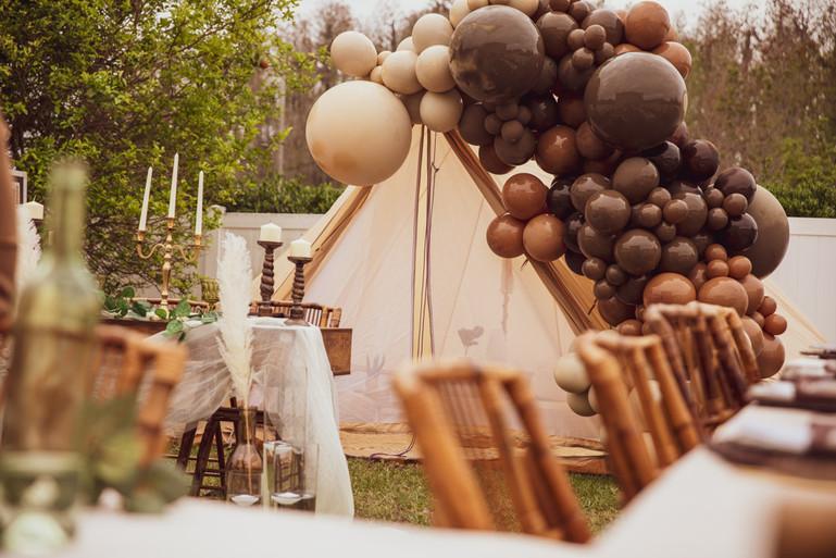 Wedding Vendor styled product shots.