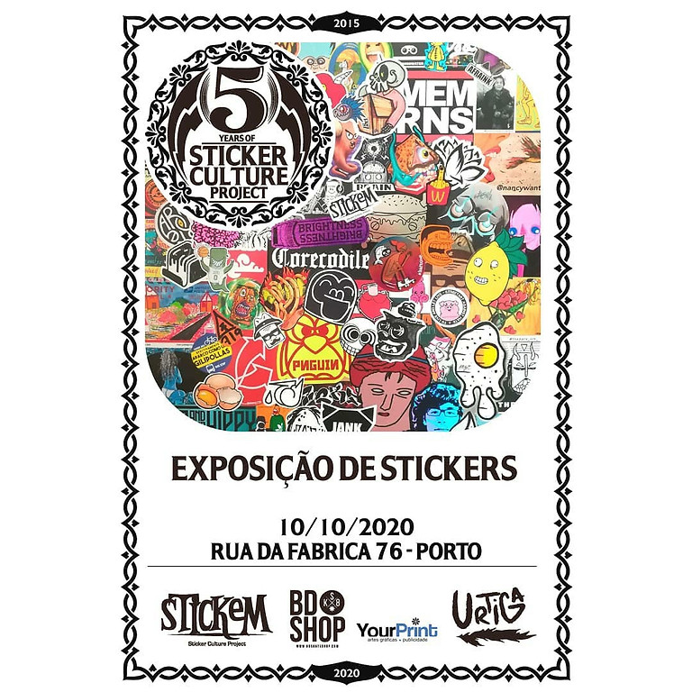 5 years of Sticker Culture Project