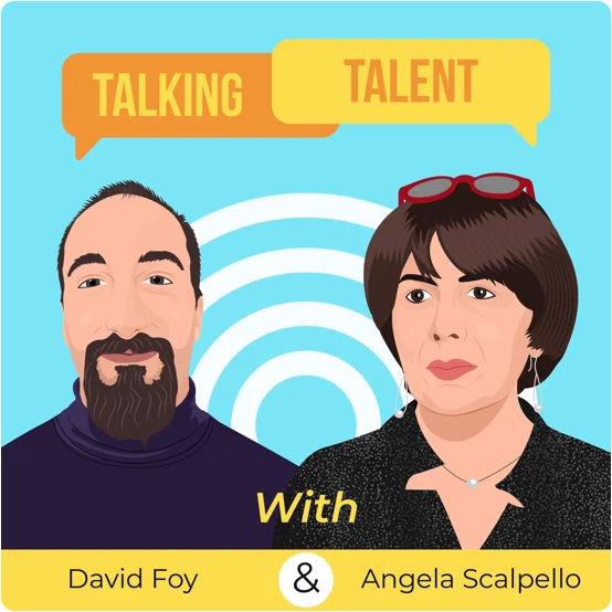 Babita Patel, media appearance, Talking Talent, interview, podcast