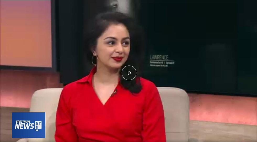 Babita Patel, media appearance, NY1, interview, tv, local news