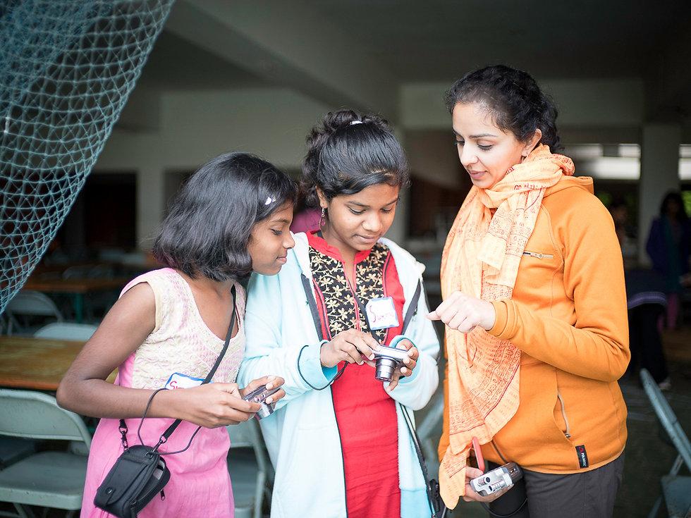 Babita Patel, Nonprofit Leader, KIOO Project, teaching photography, girls, India, gender equality