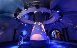 熔岩互動環形投影 - 工研院