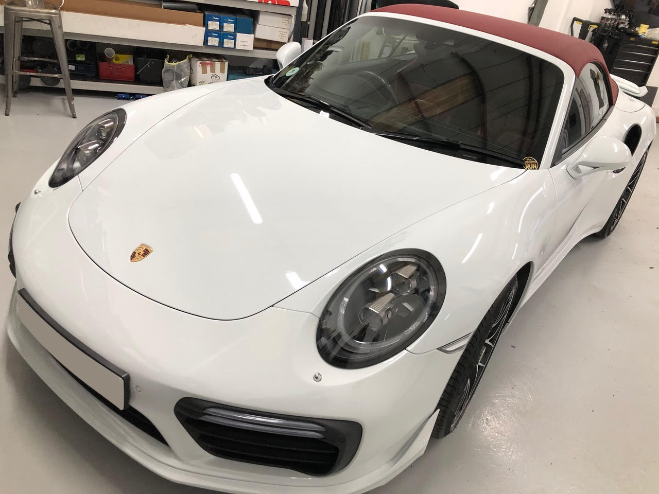 Paint Protection Film fitted to headlights and paintwork