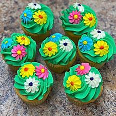 Flower Cupcakes, 6 pk