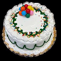 Chocolate Cake, White icing