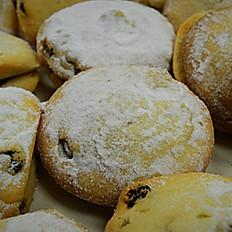 Raisin Tea Cookies, lb
