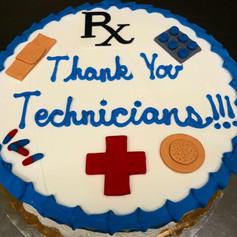 Pharmacy Tech Cake