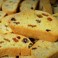 Cinnamon Raisin Mandel Bread, 1 lb