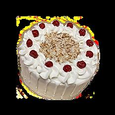 Coconut Cream Drip Cake