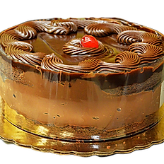 "8"" Chocolate Cream Cake"