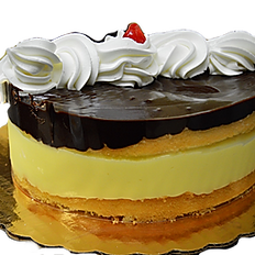 """8"""" Boston Cream Cake"""