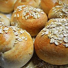 Whole Wheat Rolls, 1 dz