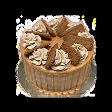 Caramel Lotus Drip Cake
