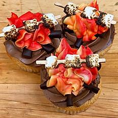 Lag Ba'Omer Bonfire Cupcakes, 6 pk