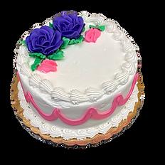 Vanilla Cake, White icing