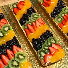 Long Fresh Fruit tart