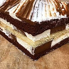 Checkerboard Mousse Square