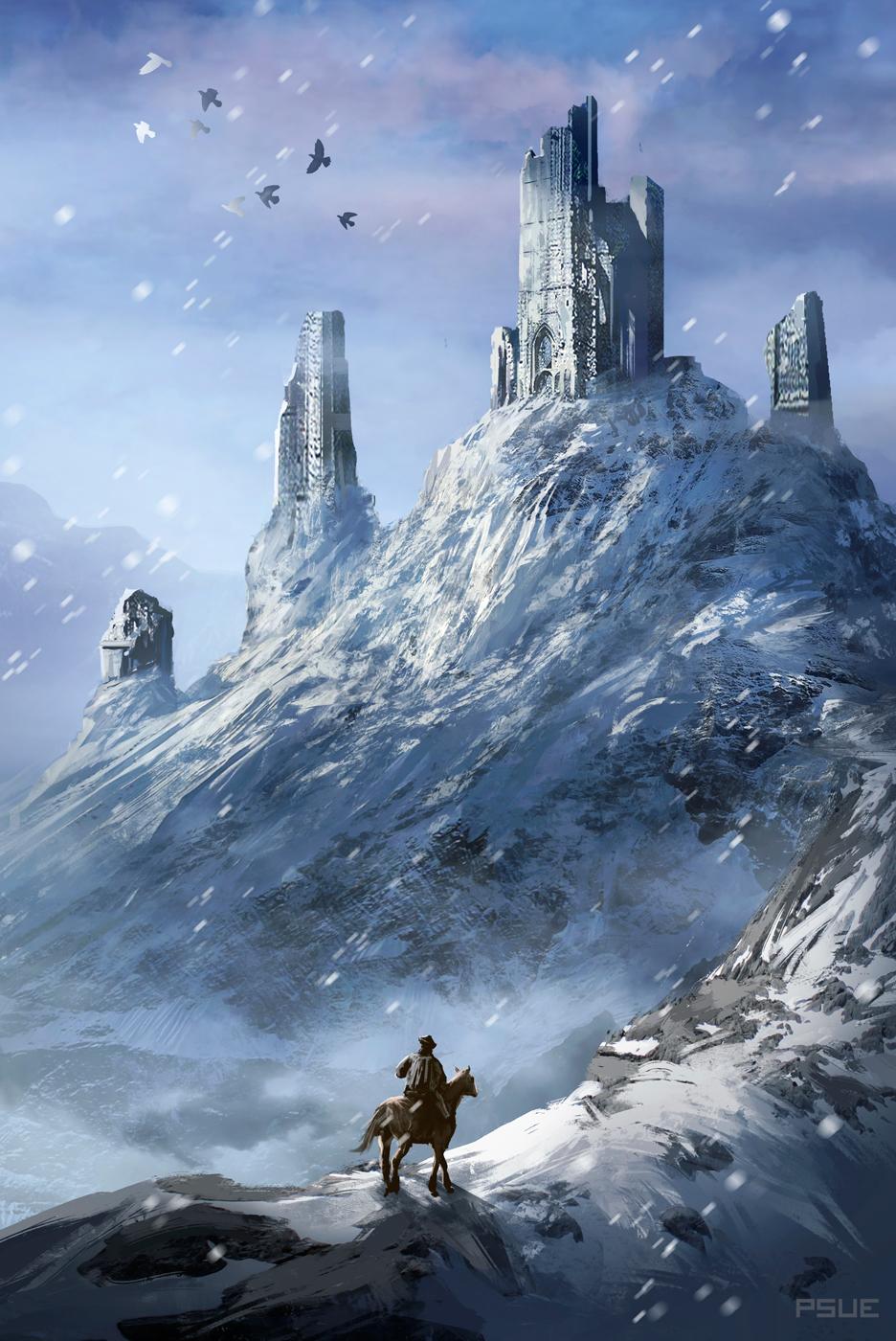 Snow Pillar