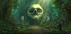 Tomb In The Giant Elder Tree