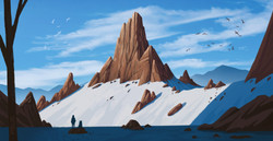 Snowfall Valley - The Climb