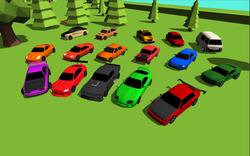 Screenshot cars