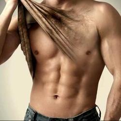 mannen borsthaar