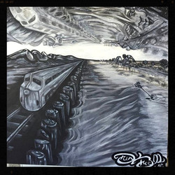 """Grey Space"" 24 x 24 acrylic on canvas"