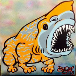 """""""Bullshark"""" 24 x24"""