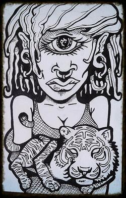 """Eye of the Tiger Rider"""
