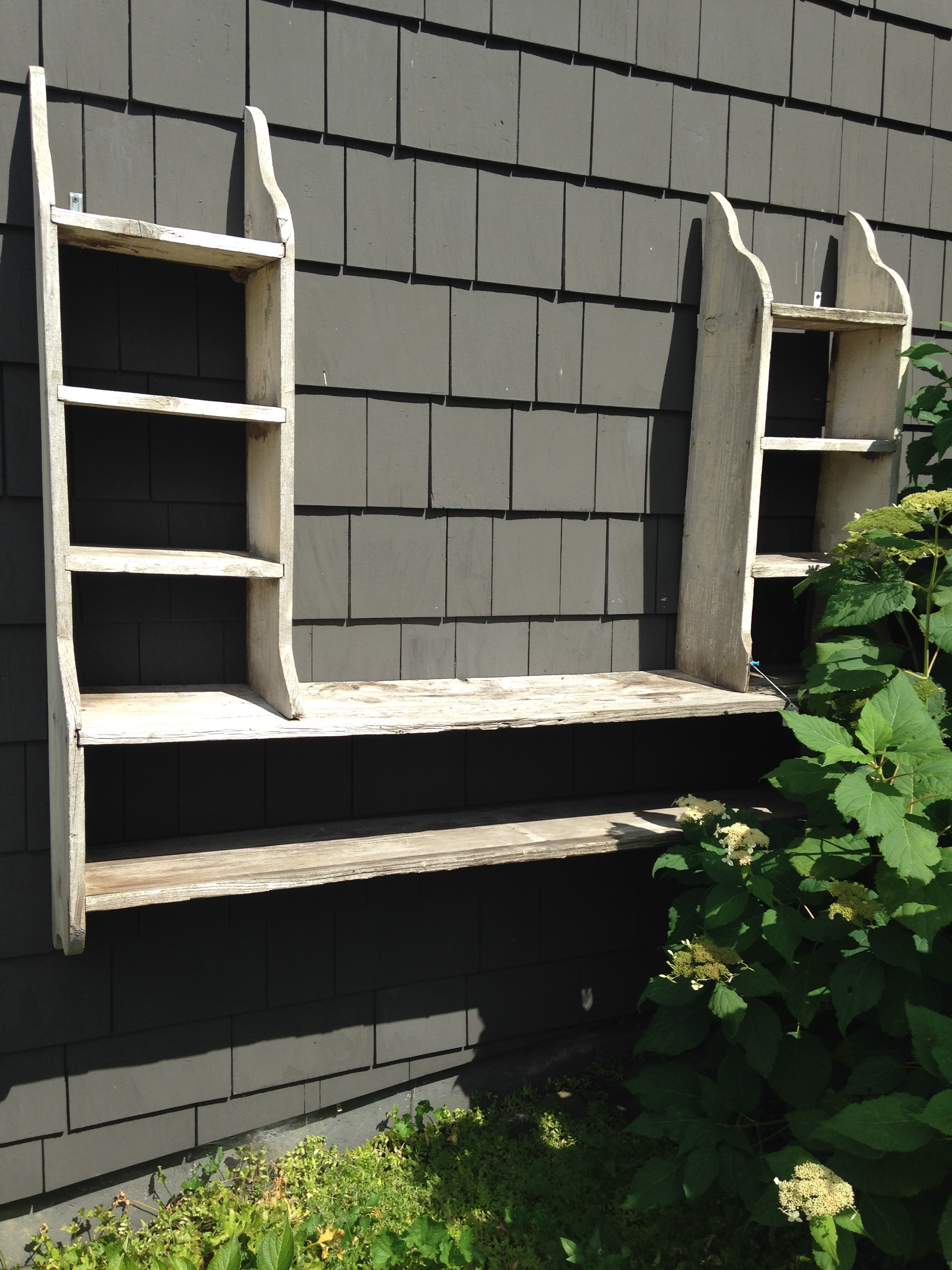 Salvage Shelving