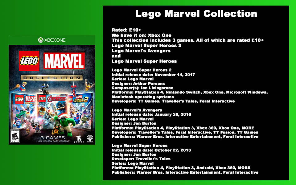 W-Description - Lego Marvel Collection.j