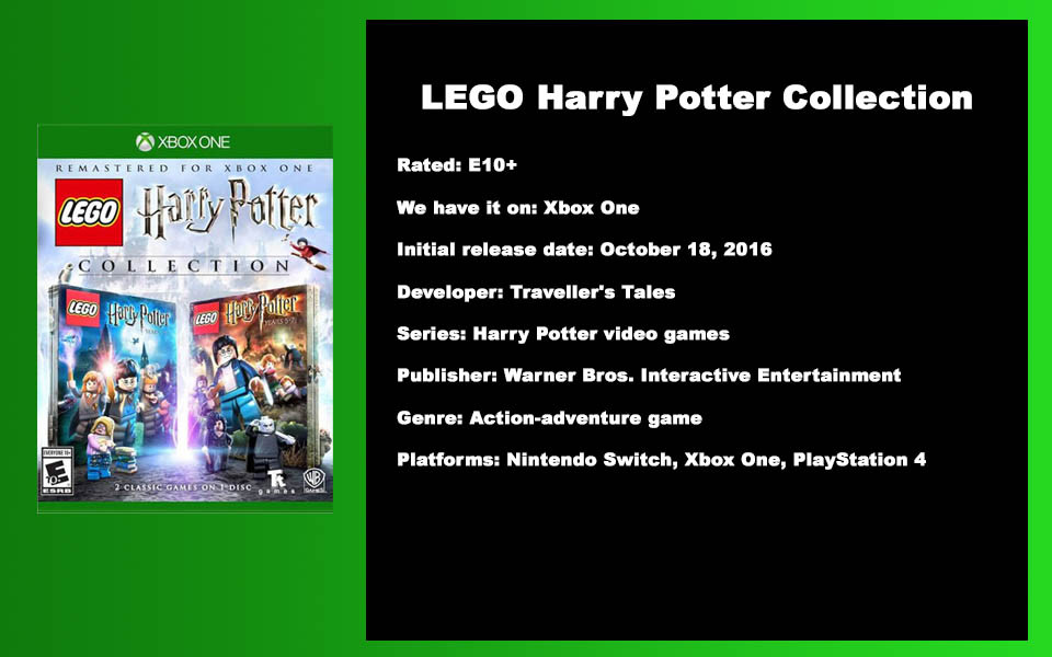 W- DESCRIPTION - Lego Harry Potter Colle