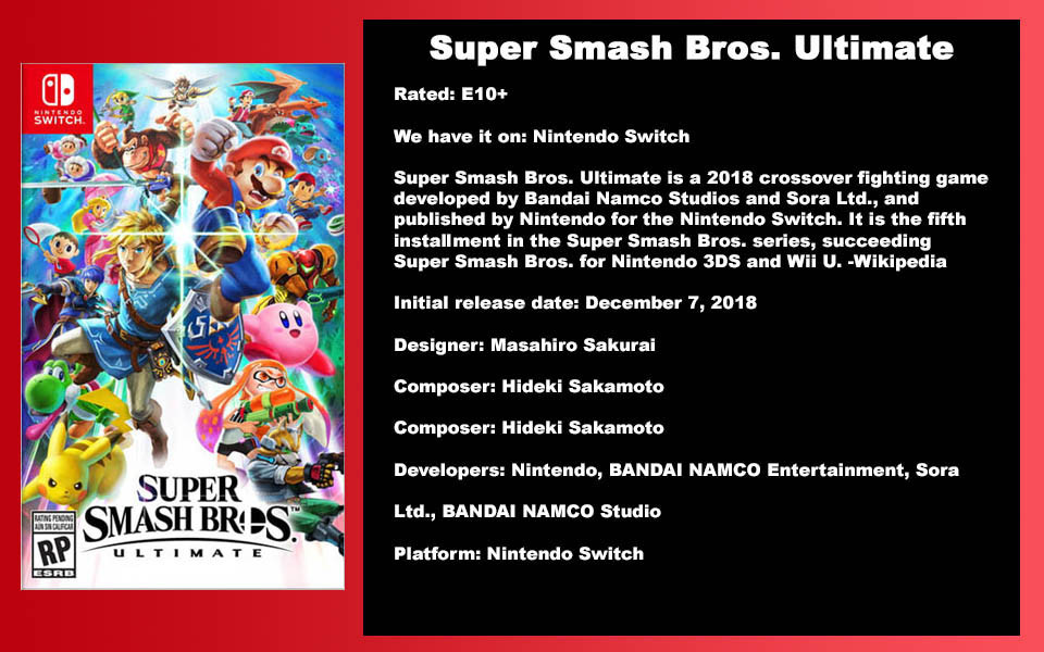 W-Description - Super Smash Bros. Ulitim
