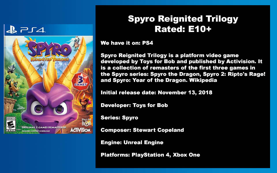 W- DESCRIPTION - Spyro Reignited Trilogy